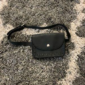 Small Black Waist Bag